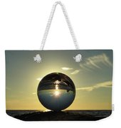 8-30-16--6270 Don't Drop The Crystal Ball, Crystal Ball Photography Weekender Tote Bag