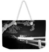 8-8-16--7126 Black And White, Cruzin The Back Road, Don't Drop The Crystal Ball Weekender Tote Bag