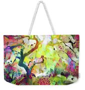 8 Abstract Japanese Maple Tree Weekender Tote Bag