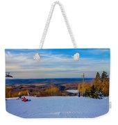 Beautiful Winter Landscape At Timberline West Virginia Weekender Tote Bag