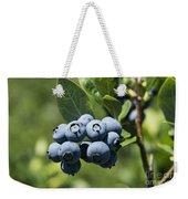 Blueberry Bush Weekender Tote Bag