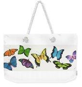 8 Butterflies Weekender Tote Bag