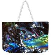 8. Close-up Ice Prismatics, Slaley Sand Quarry Weekender Tote Bag