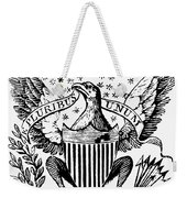 Eagle, 19th Century Weekender Tote Bag