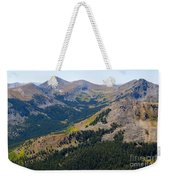 Autumn Tundra Turning To Gold  On Mount Yale Colorado Weekender Tote Bag