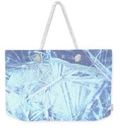 8. Ice Patterns, Whitfield Weekender Tote Bag