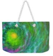 Impression Series - Floral Galaxies Weekender Tote Bag by Ranjay Mitra