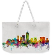 Indianapolis Indiana Skyline Weekender Tote Bag