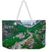 Inside Passage Mountain Views Around Ketchikan Alaska Weekender Tote Bag