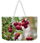 Lingonberry Weekender Tote Bag