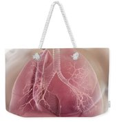 Lungs Weekender Tote Bag