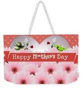 Mother's Day Weekender Tote Bag