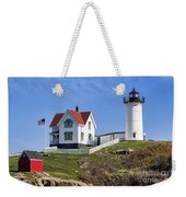 Nubble Lighthouse Weekender Tote Bag