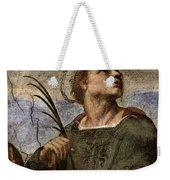 Raphael La Disputa  Weekender Tote Bag