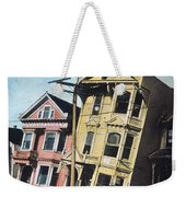 San Francisco Earthquake Weekender Tote Bag