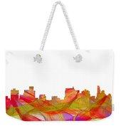 Springfield Illinois Skyline Weekender Tote Bag