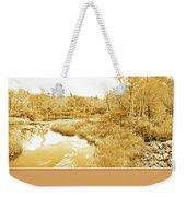 Stream In Autumn, Pocono Mountains, Pennsylvania Weekender Tote Bag
