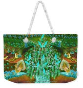 Sukkot- Prayer In The Sukkah Weekender Tote Bag