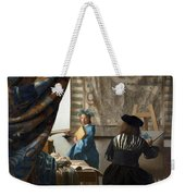 The Art Of Painting Weekender Tote Bag