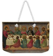 The Last Supper Weekender Tote Bag