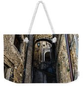 Walking Through The Streets Of Pretoro - Italy  Weekender Tote Bag