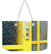 Yellow Door Weekender Tote Bag