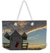 8003- Miami Beach Sunrise Weekender Tote Bag