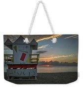 8041- Miami Beach Sunrise Weekender Tote Bag