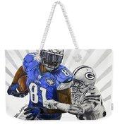 #81 Calvin Johnson Weekender Tote Bag