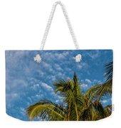 8156- Palm Tree Weekender Tote Bag