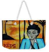 8303-2-  Little Havana Mural Weekender Tote Bag