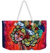 8334-1- Little Havana Mural Weekender Tote Bag