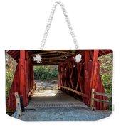 8350- Campbell's Covered Bridge Weekender Tote Bag