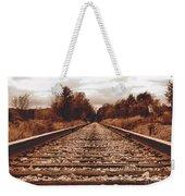 86ed On The Tracks Weekender Tote Bag