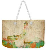 88 Keys To Her Heart Weekender Tote Bag by Nikki Smith