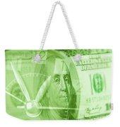 Time Is Money 17 Weekender Tote Bag