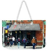 8th Ave. And W 22nd Street Chelsea Weekender Tote Bag