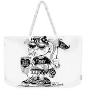 9/11 Commercialization Weekender Tote Bag