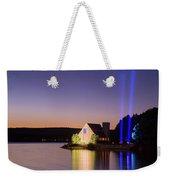 9/11 Memorial Sunset Star-free Weekender Tote Bag by Brian Hale