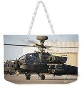 Ah-64d Apache Longbow Taxiing Weekender Tote Bag