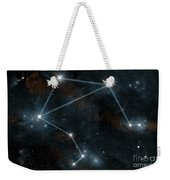 Artists Depiction Of The Constellation Weekender Tote Bag