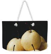Asian Pears Weekender Tote Bag