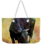 Bull Weekender Tote Bag