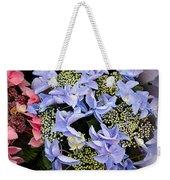 Close-up Of Flowers Weekender Tote Bag