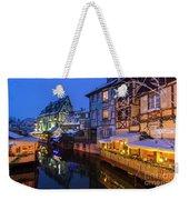 Colmar,petite Venice, Alsace, France, Weekender Tote Bag