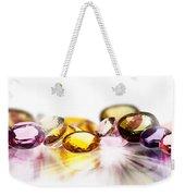 Colorful Gems Weekender Tote Bag