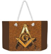 Freemason, Mason, Masonic Symbolism Weekender Tote Bag