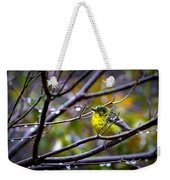 Img_0001 - Pine Warbler Weekender Tote Bag