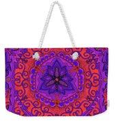 Indian Fabric Pattern Weekender Tote Bag