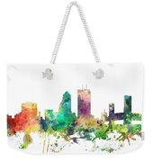 Jacksonville Florida Skyline Weekender Tote Bag